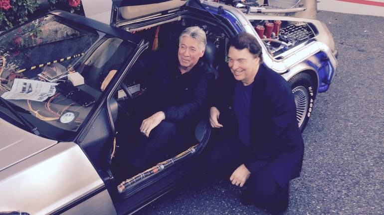 Pictured: Alan Silvestri and David Newman in a