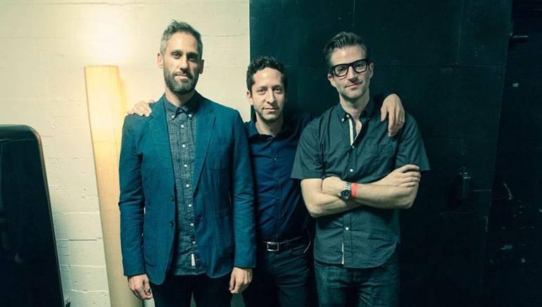 BMI composers Rob Simonsen, Jeremy Zuckerman and Deru (Benjamin Wynn).