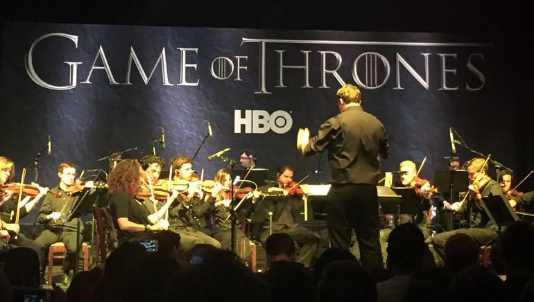 "Performance of Ramin Djawadi's score to ""Game of Thrones"" at the Hollywood Palladium."