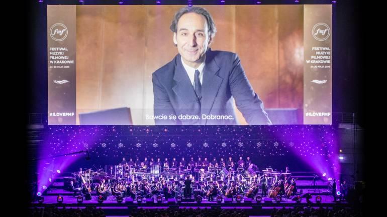 Oscar-winning composer Alexandre Desplat's music is celebrated at the 2016 Krakow Film and Music Festival.