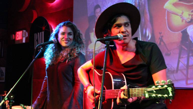 Periko and Jessi Leon delivered a lively set.