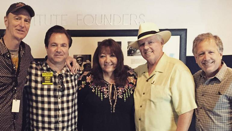 Pictured (L-R) at the Musicians Institute 2016 Film Music Intensive are: BMI composer Craig Richey, Fortress Management agent Robert Messinger, BMI Vice President, Film/TV Relations, Doreen Ringer-Ross, BMI composer and former chair of the film scoring department at Berklee College of Music George S. Clinton and BMI composer/director of the Sundance Film Music Program Peter Golub.