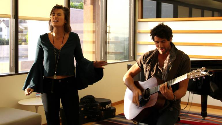 Esmay and Max Luck give a brilliant performance at BMI's LA office.