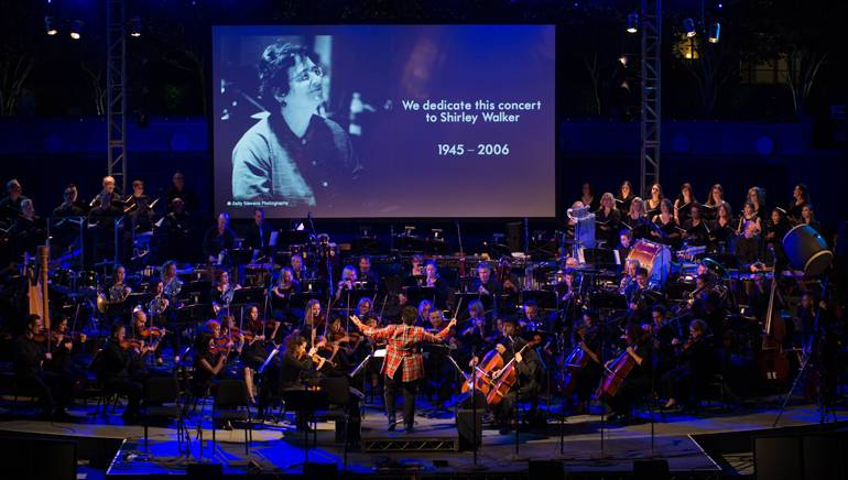 """All of the composers whose music was featured during """"The Women Who Score: Soundtracks Live"""" concert dedicated their performances to the late Shirley Walker, the Emmy-winning composer who pioneered the advancement of women film composers."""