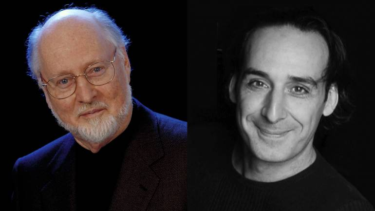 Pictured: BMI composers John Williams and Alexandre Desplat