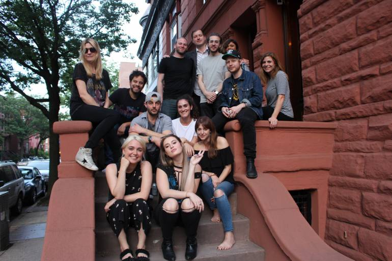 First Row: Victoria Zaro, FLETCHER, BMI's Jessa Gelt Second Row: BMI's Tim Pattison and Sarah Middough Third Row: BMI's Samantha Cox, Lincoln Parish, BMI's Tracie Verlinde Last Row: Mike Campbell, BMI's Brandon Haas, Carter Matschullat, Andy Seltzer, Nisha Asnani