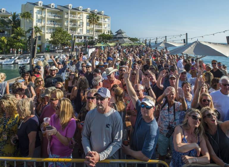 The Key West Songwriters Festival Kick Off Party takes place at the Sunset Pier on May 10, 2017.
