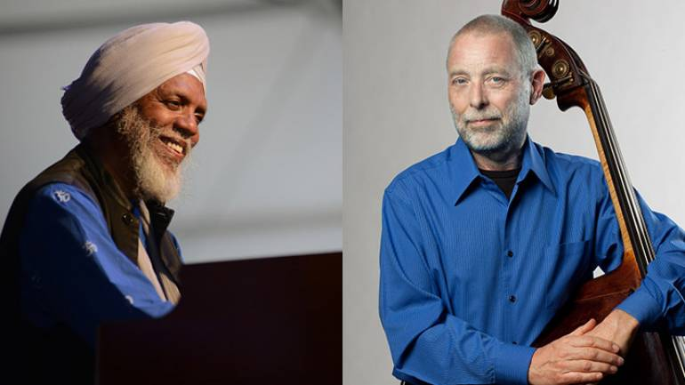 Pictured (L-R): Dr. Lonnie Smith, Dave Holland