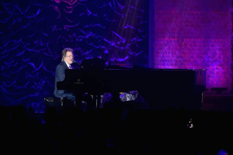Steve Dorff performs at the 49th Annual Induction & Awards Gala of the Songwriters Hall of Fame.