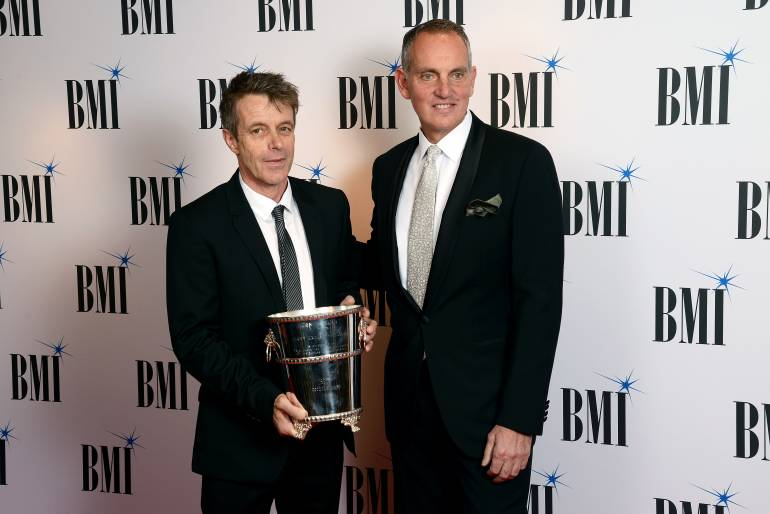Pictured: BMI Icon Harry Gregson-Williams and BMI President & CEO Mike O'Neill