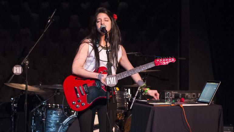 Madame Récamier opens BMI Sonidos Alternos Latin Showcase with a stunning vocal performance during SXSW 2017.