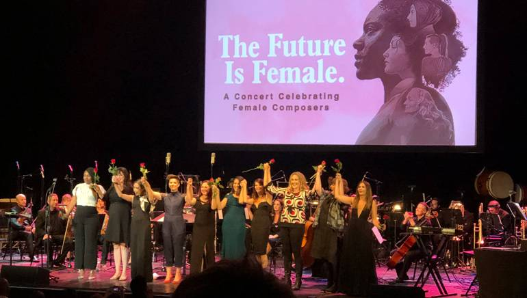 'The Future is Female' Proves to be a Powerful Celebration of Women Composers in Los Angeles.