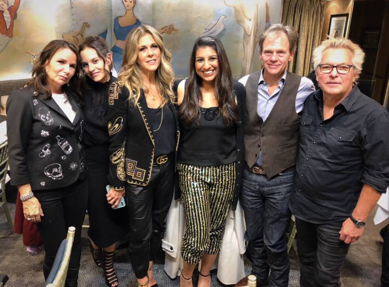 Patty Smyth, Kara DioGuardi, Rita Wilson, BMI's Reema Iqbal, Tom Douglas, and Keith Mack.