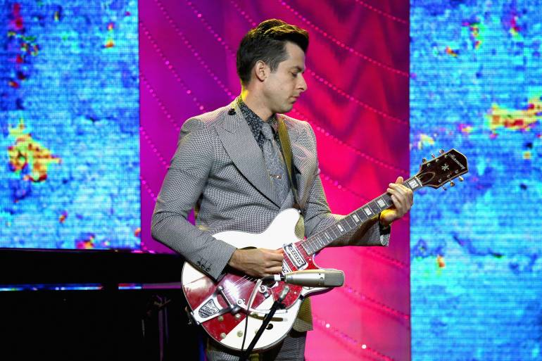 Mark Ronson performs onstage at the 66th Annual BMI Pop Awards at Regent Beverly Wilshire Hotel on May 8, 2018 in Beverly Hills, California