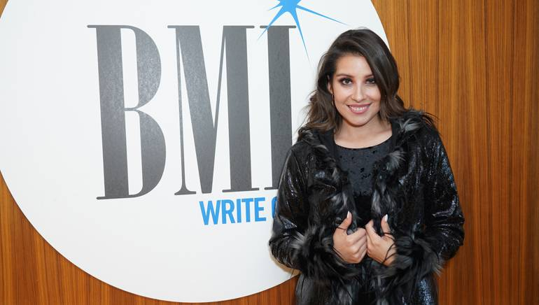 Maria Jose Quintanilla performs at the BMI office in Los Angeles.