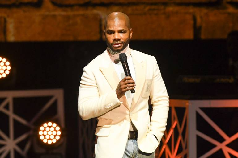 Kirk Franklin on stage the 2017 BMI Trailblazers of Gospel Honors