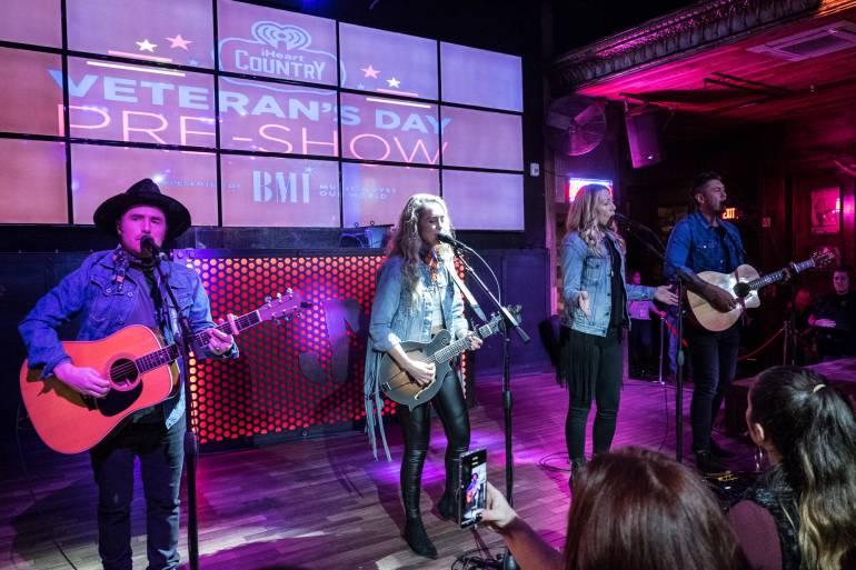 Gone West performs the BMI Guitar Pull at Jason Aldean's Kitchen in Nashville.