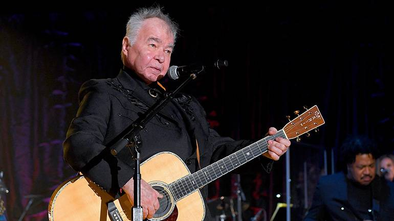 John Prine performs at the 50th Annual Induction & Awards Gala of the Songwriters Hall of Fame.