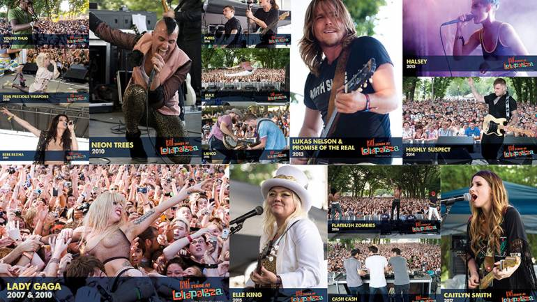 Past BMI Lollapalooza performers include Lady Gaga, Halsey, Elle King, Lukas Nelson & Promise of the Real, and many more.