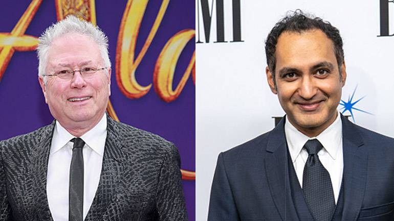 Pictured are BMI composers Alan Menken and Vivek Maddala.