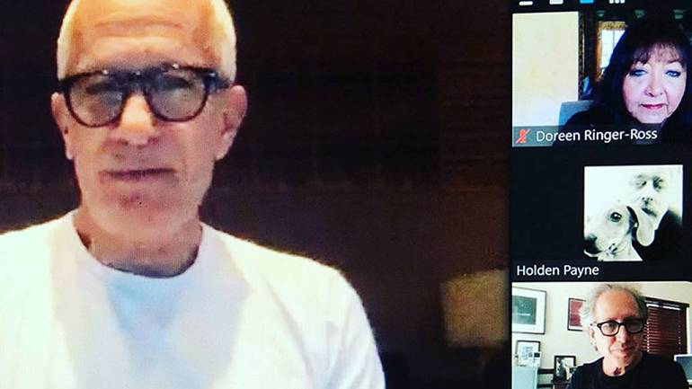 BMI composer James Newton Howard advises Lab Fellows during the 2020 digital edition of the renowned Sundance Institute Film Music and Sound Design Lab.