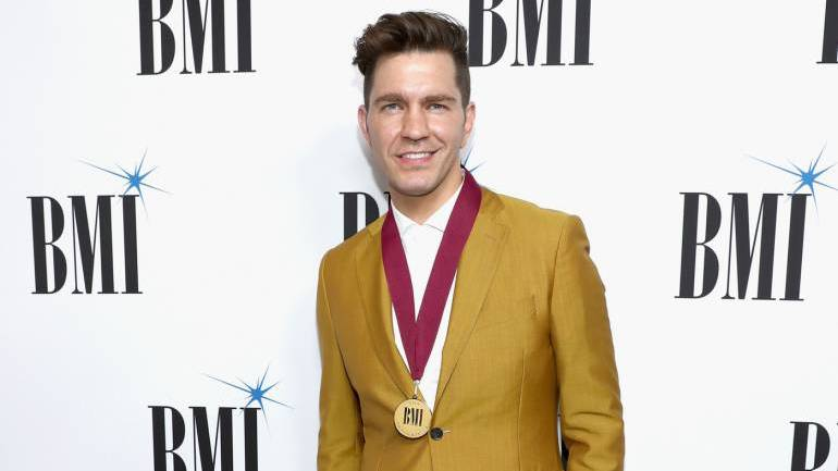 Andy Grammer attends 66th Annual BMI Pop Awards at Regent Beverly Wilshire Hotel on May 8, 2018 in Beverly Hills, California.