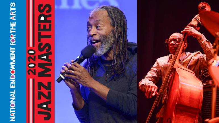 Pictured are 2020 NEA Jazz Masters Bobby McFerrin and Reggie Workman