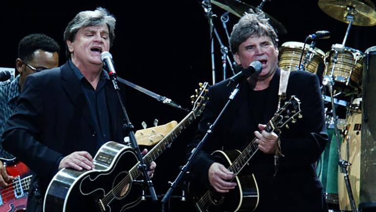 Pictured are Don and Phil Everly.