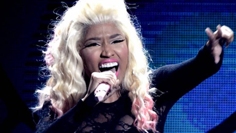 Nicki Minaj performs at the 2012 BET Awards.