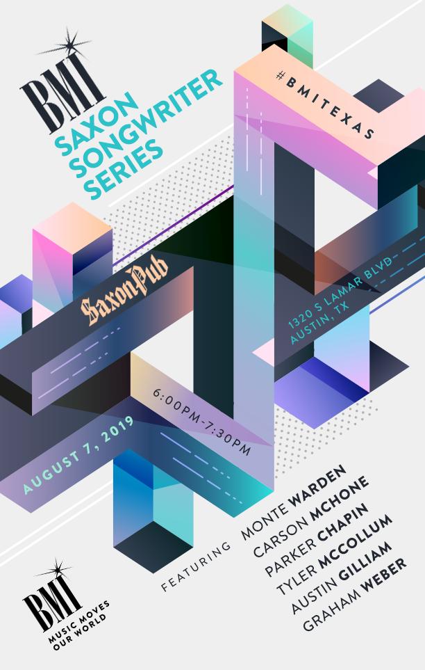 Saxon Pub Calendar.Bmi Saxon Songwriter Series Austin Tx August 7 2019 Calendar