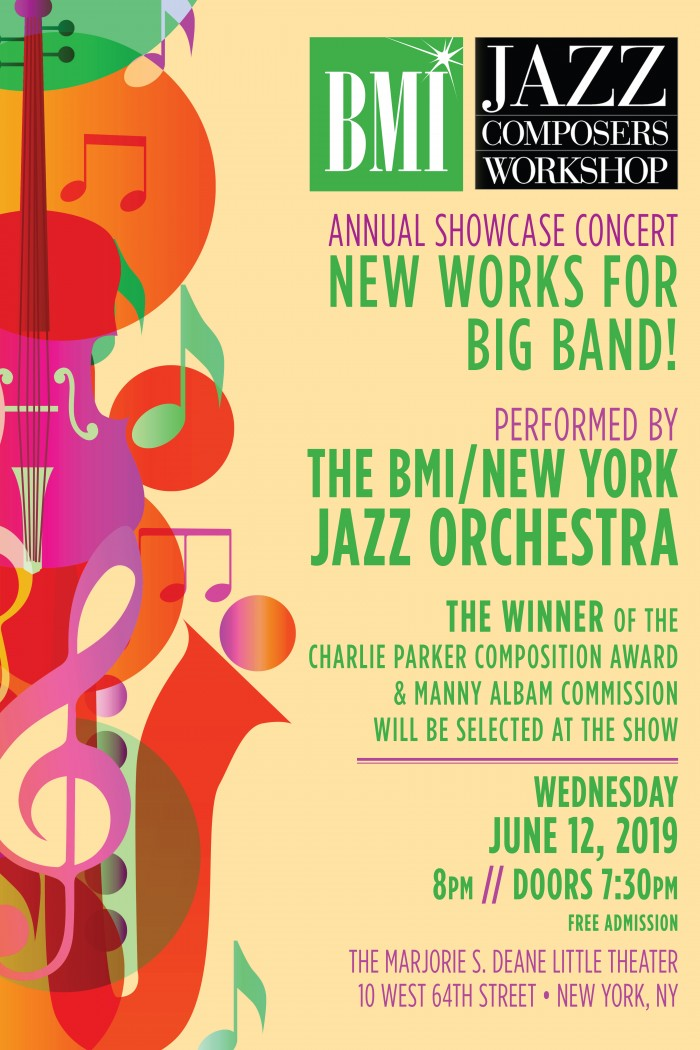 31st Annual BMI Jazz Composers Workshop Concert: New York
