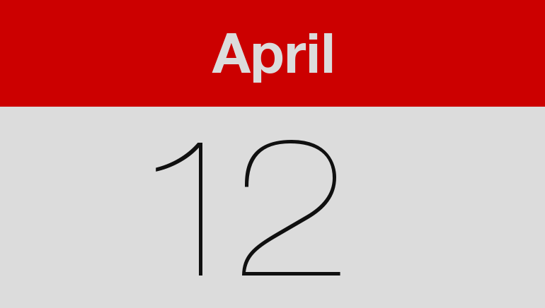 Calendar 2018 April Festival