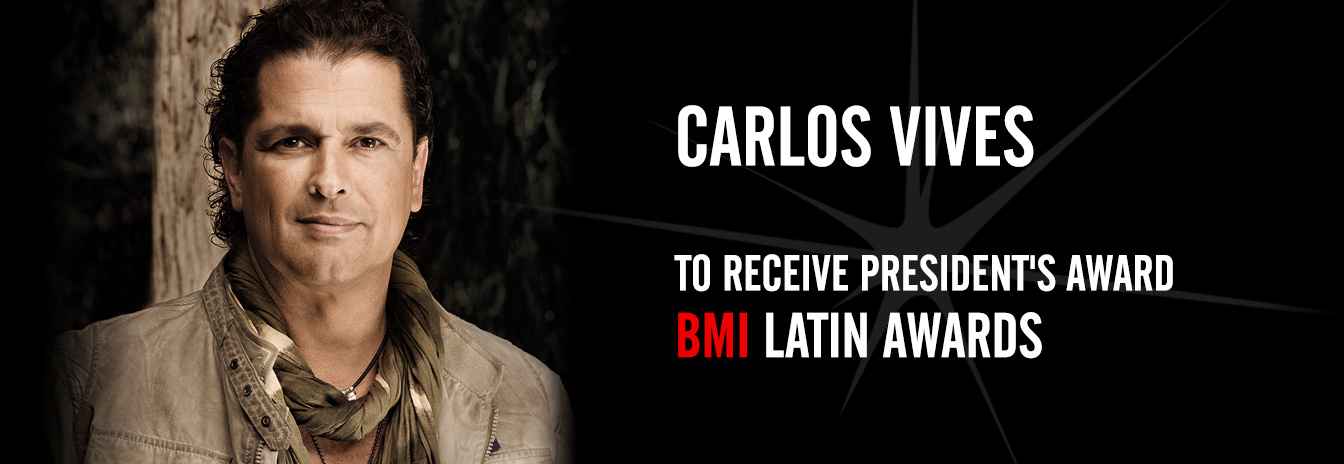 Carlos Vives to Receive President's Award