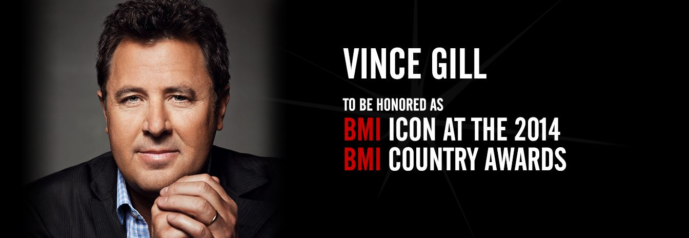 Vince Gill to be Icon 2014 BMI Country Awards