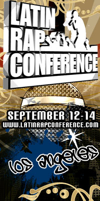 Latin Rap Conference Banner