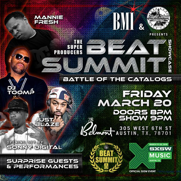 Beat Summit Flyer